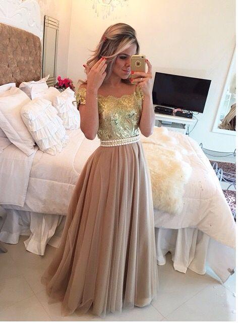 Gold dresses!