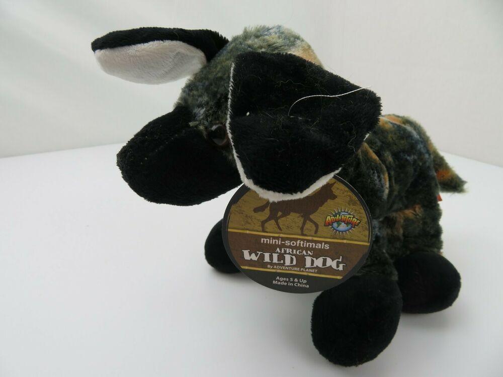 "Adventure African Wild Dog Plush 9"" Stuffed Animal"