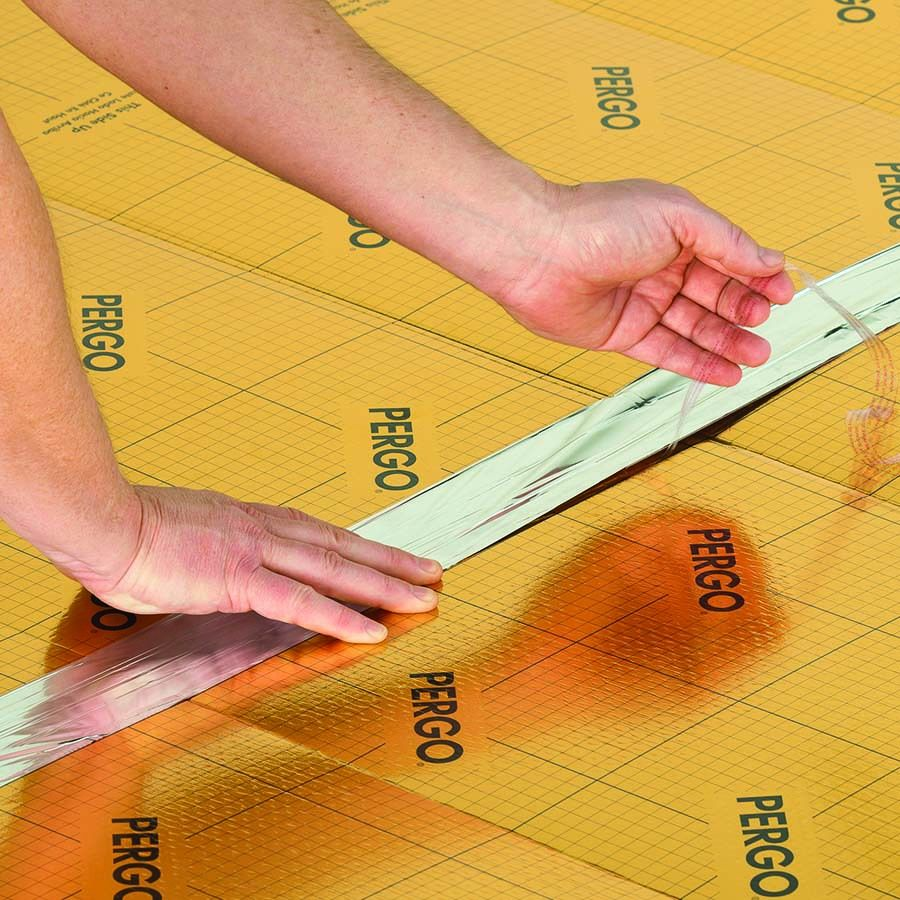 Shop Pergo 100sq ft Premium 0.12in Flooring Underlayment