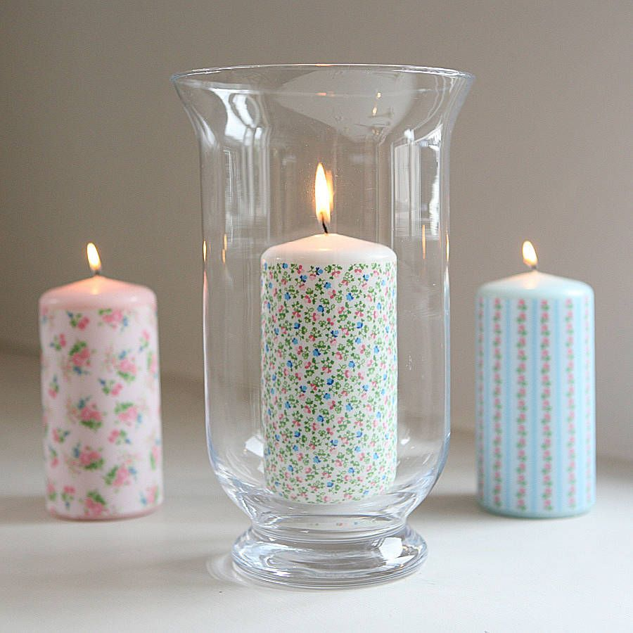 Pretty Floral Scented Candle By Flowerbug Designs