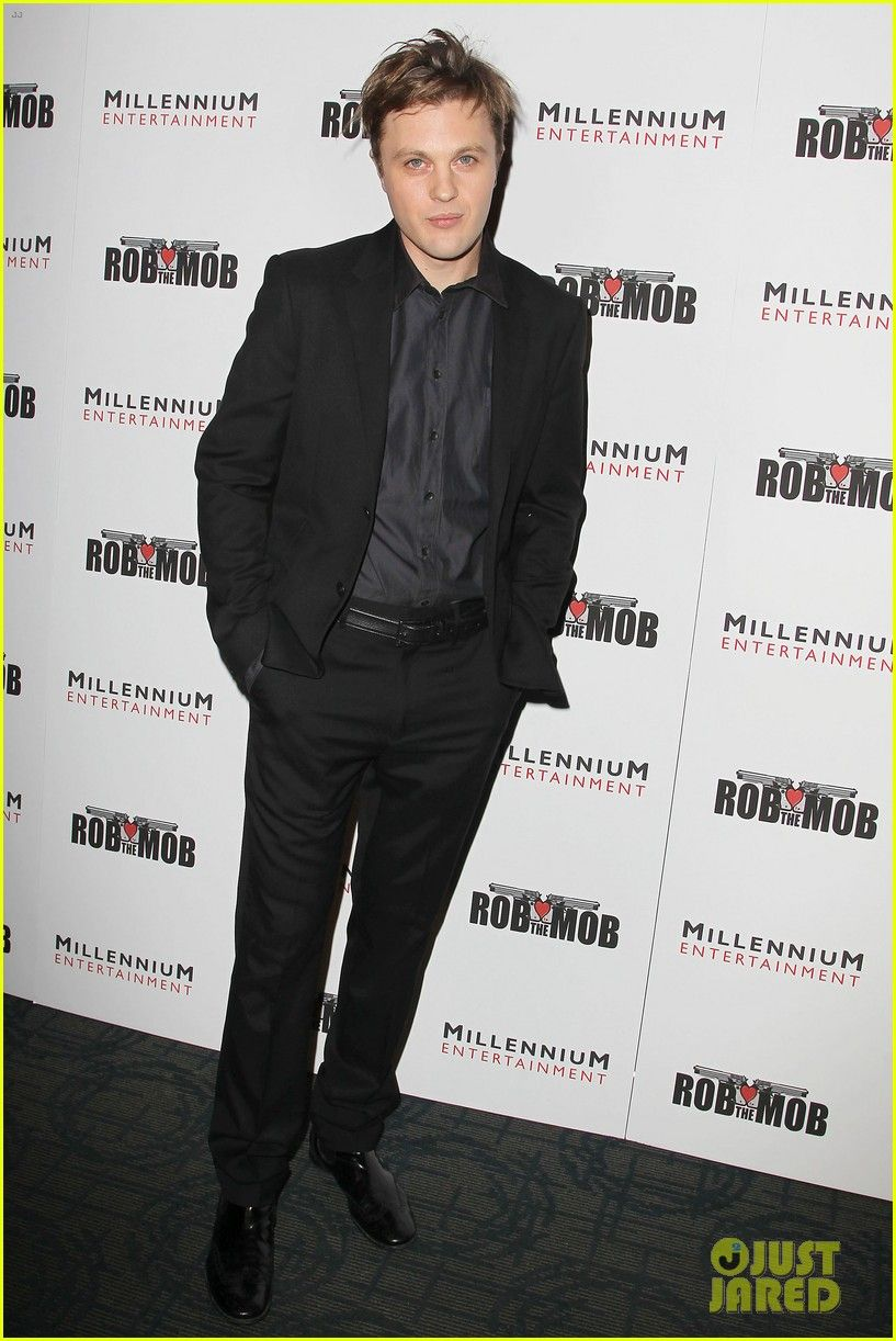 Michael Pitt Robs the Mob at New York City Premiere | Michael Pitt Photos | Just Jared