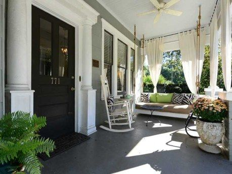 Gorgeous southern front porch porches and patios for Southern front porches