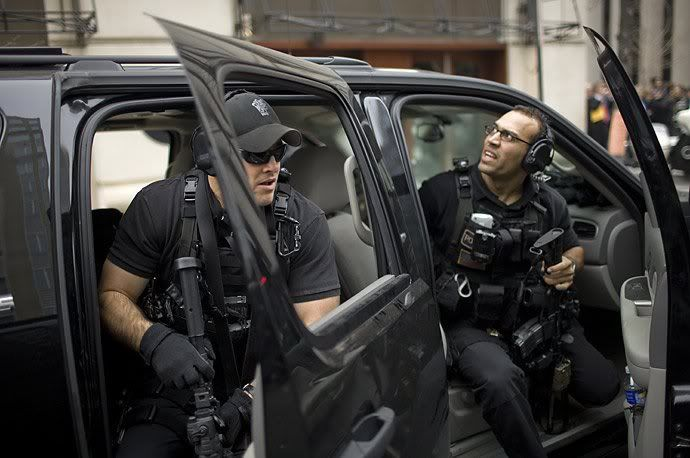 Secret Service Motor Unit