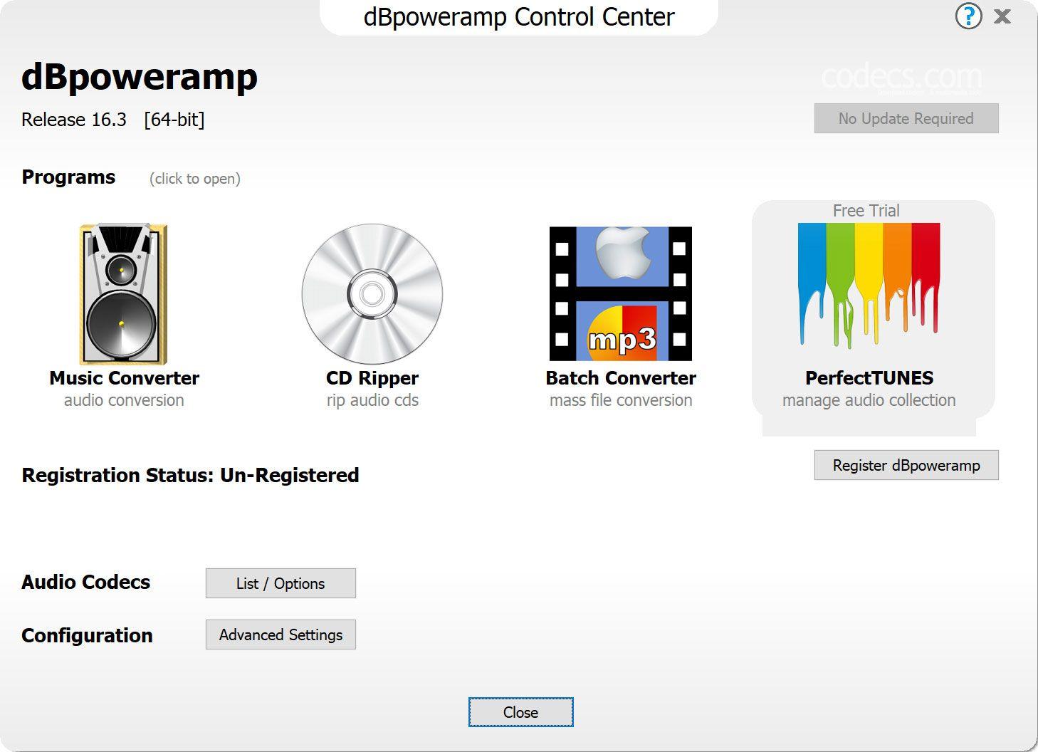 Скачать программу dbpoweramp music converter