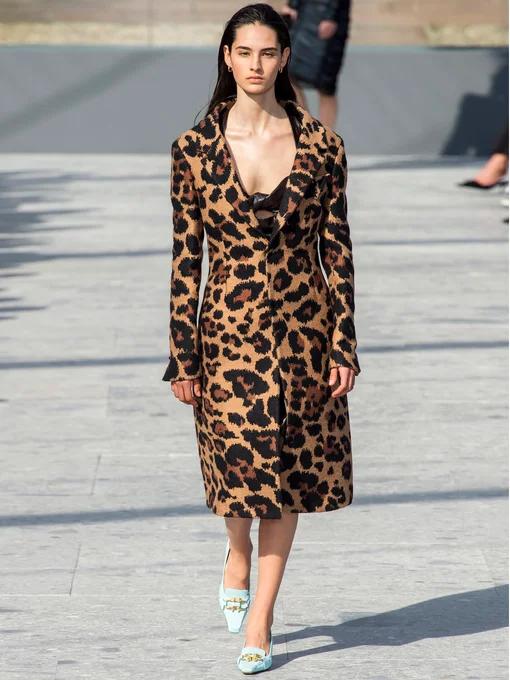 Cappotto monopetto leopardo-jacquard | Bottega Veneta | MATCHESFASHION US