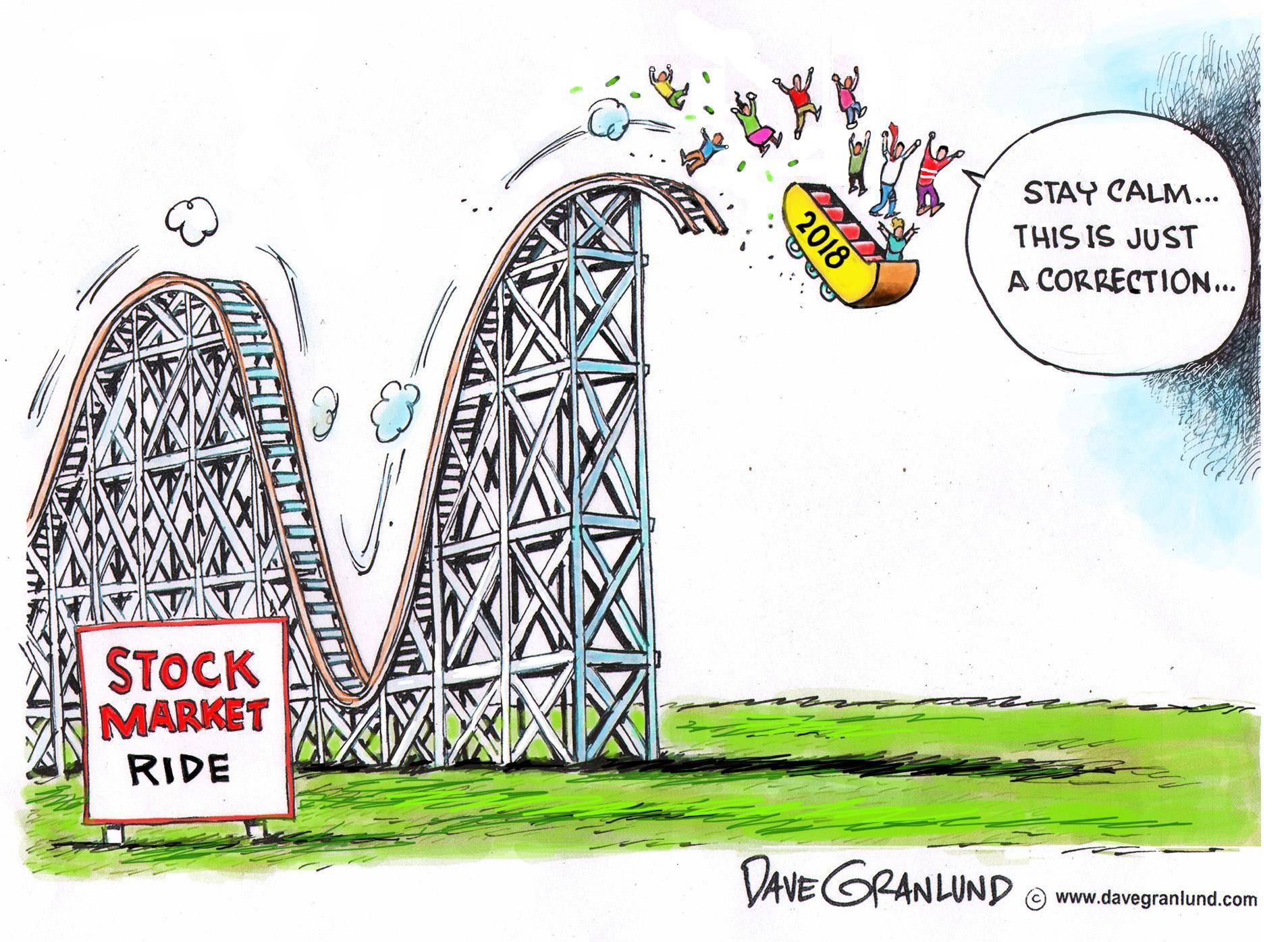 Dave Granlund Cartoon On The Stock Market Editorial Cartoon Recent Political Cartoons Stock Market