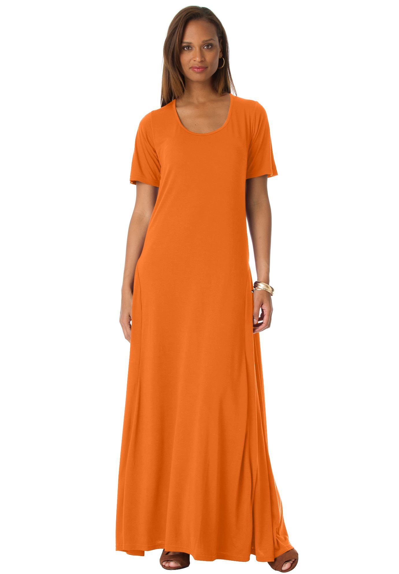 def0a18c3a1 Jessica London® Tee Shirt Maxi Dress