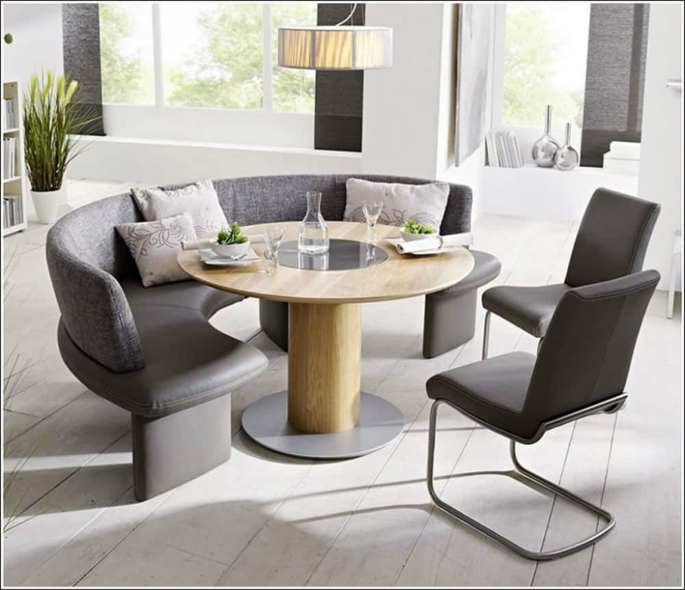 24+ Curved bench for dining table Best