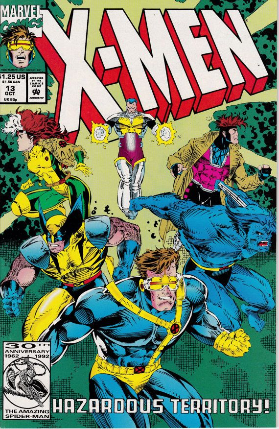 X Men 13 October 1992 Issue Marvel Comics Grade By Viewobscura Comics Marvel Books X Men
