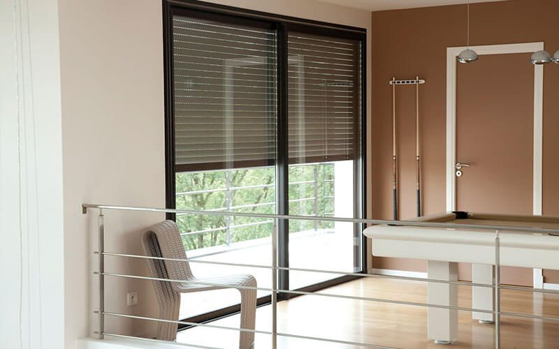 Automate Your Outdoor Window Coverings At The Touch Of A Button By Sensors And More Make Your Home Stand Out Today W In 2020 Blinds Honeycomb Blinds Motorized Blinds