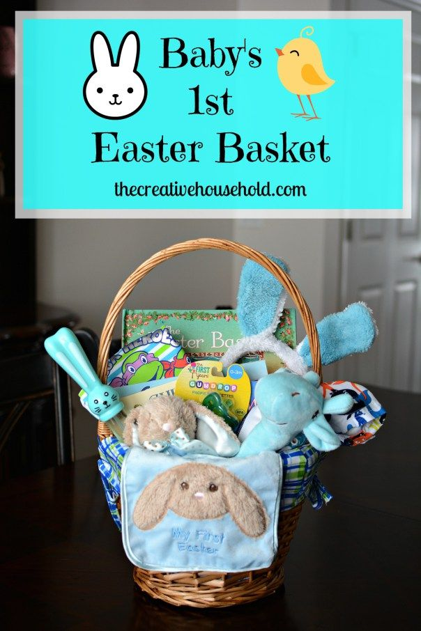 Babys 1st easter basket the best of the creative household babys 1st easter basket the best of the creative household pinterest easter baskets baby learning and easter negle Image collections