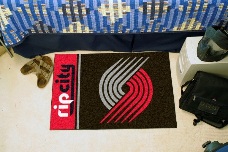 Portland Trail Blazers Uniform Inspired Starter Rug