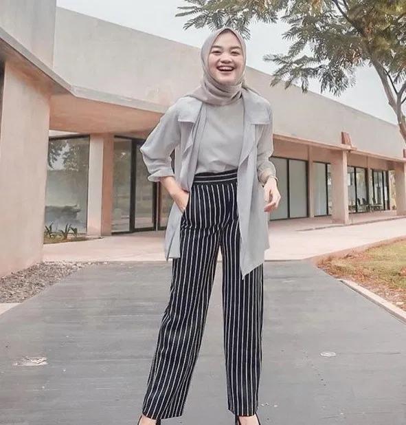 120 New Fashion Hijab Outfits Casual Muslim Model Pakaian Hijab Model Pakaian Gaya Model Pakaian