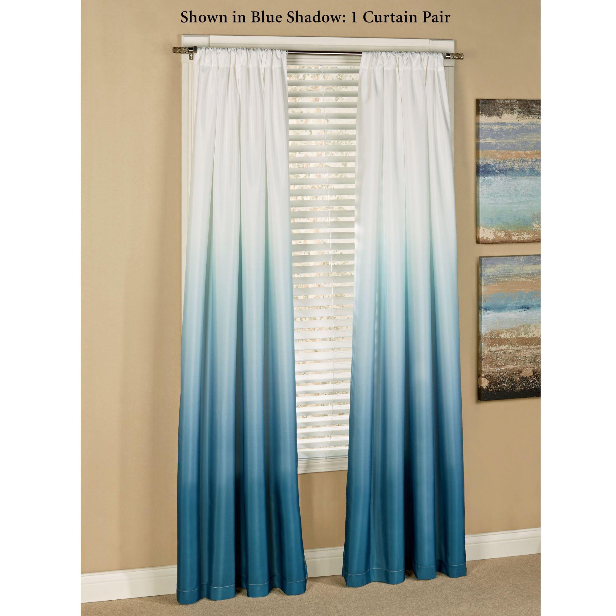 Shades Tailored Curtain Pair 80 X 84 Ombré Curtains Good Ideas
