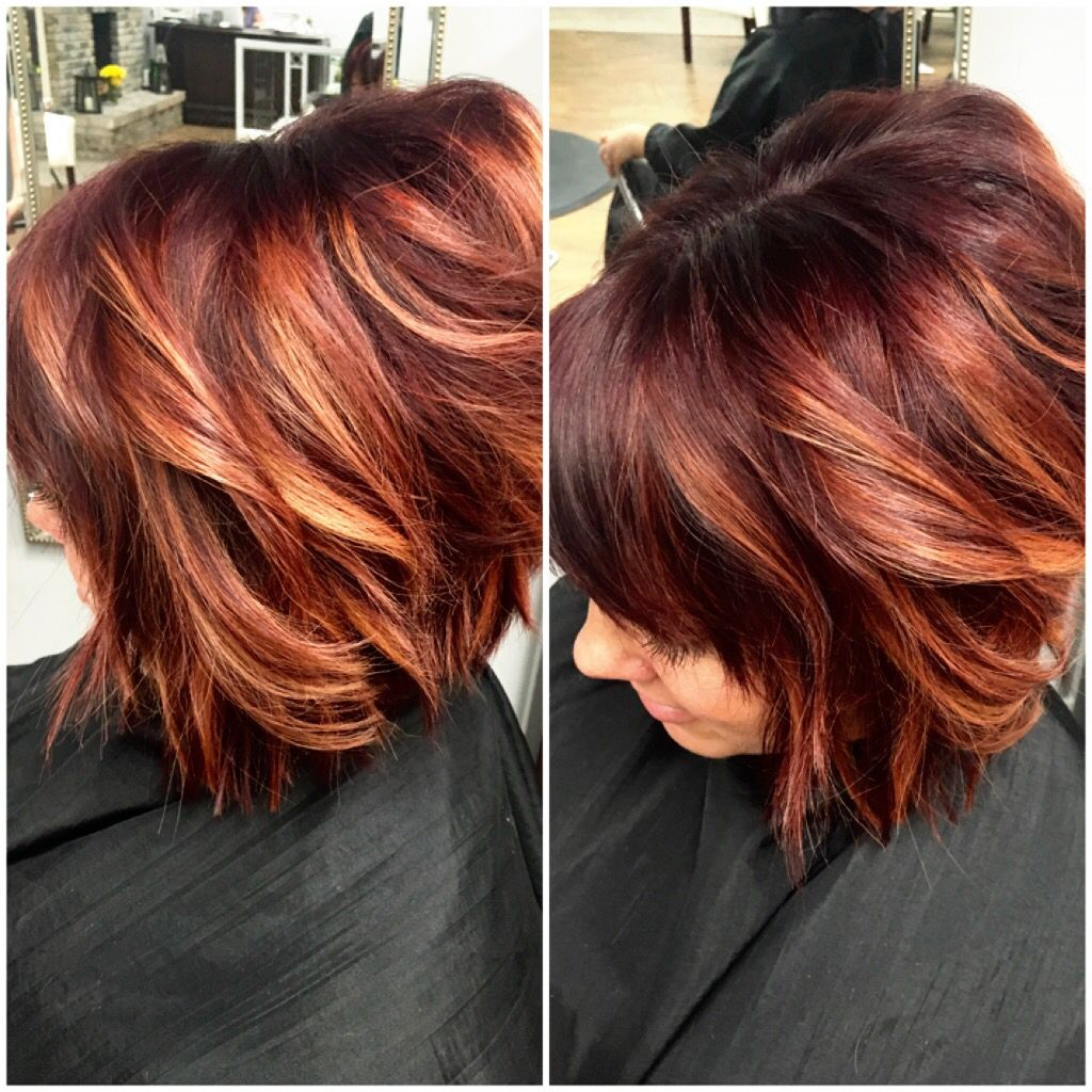 15 Delectable Beautiful Women Hairstyles Ideas Red Balayage Hair Red Blonde Hair Hair Color Auburn