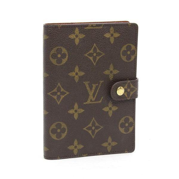 Louis Vuitton Agenda PM Monogram Shoulder bags Brown Canvas R20005