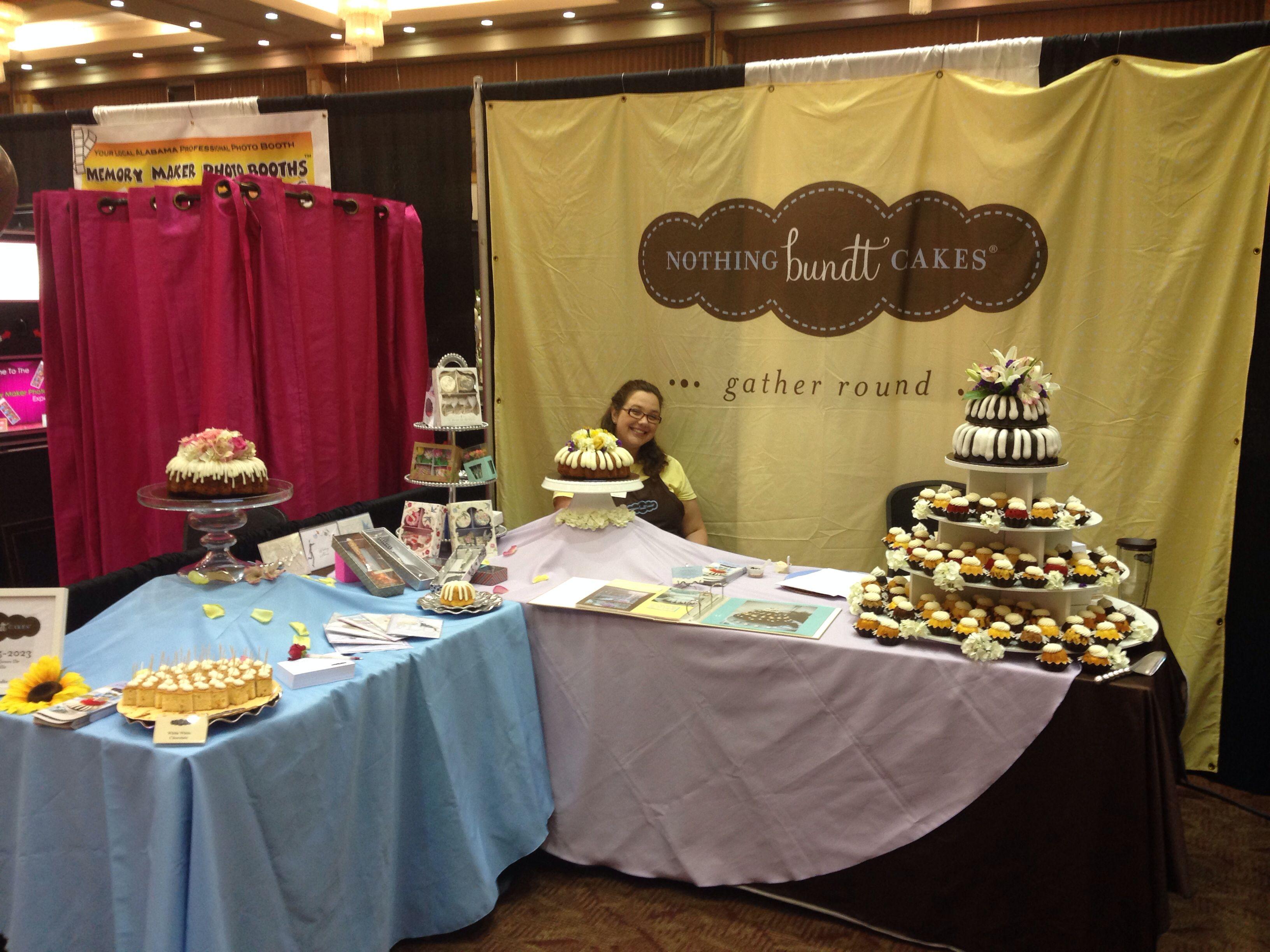 Bridal fair nothingbundtcakes nothing bundt cakes