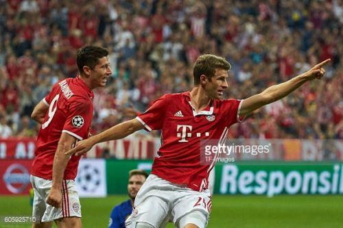 Munich, Germany 13.09.2016, UEFA Champions League - 2016/17... #kastenbeiboheimkirchen: Munich, Germany… #kastenbeiboheimkirchen