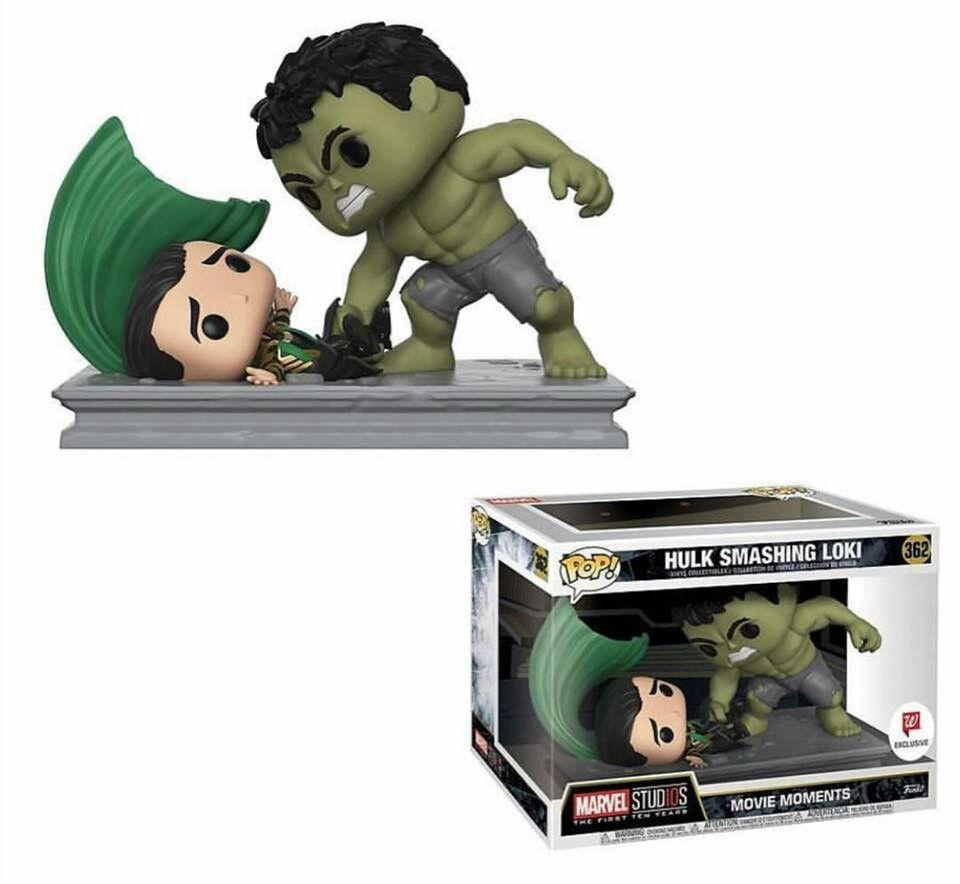 Hulk Smashing Loki Funko Pop Loki Funko Pop Funko Pop Avengers Pop Figurine