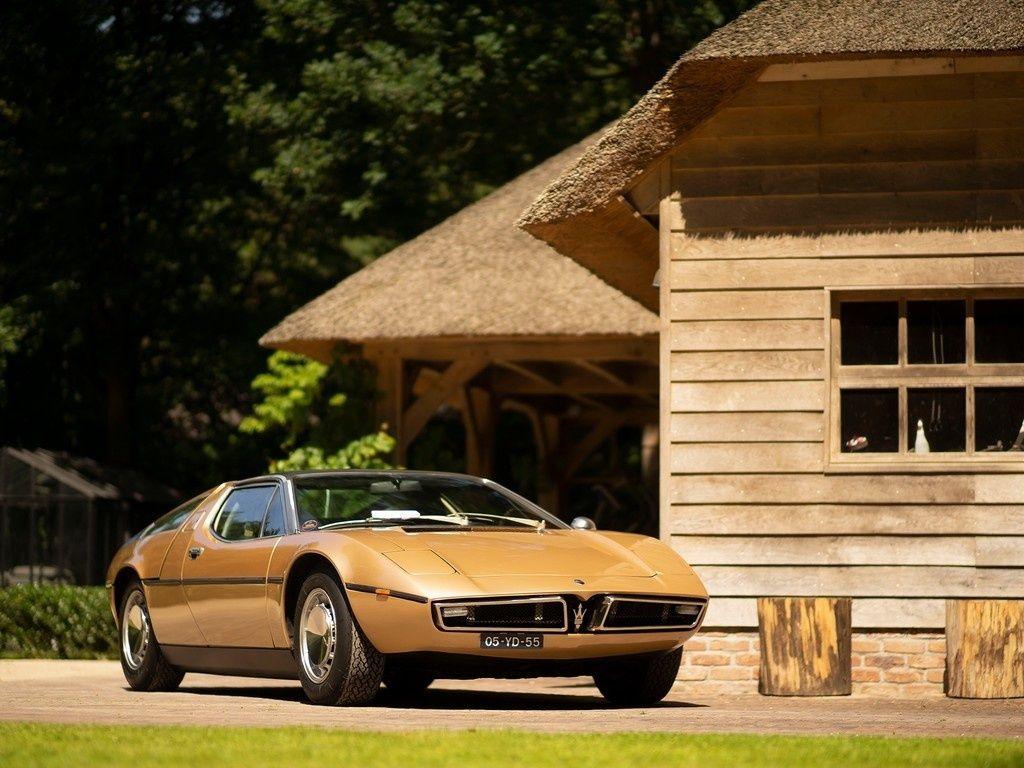1973 Maserati Bora - 4.9   Matching Numbers   Classic Driver Market (avec images)