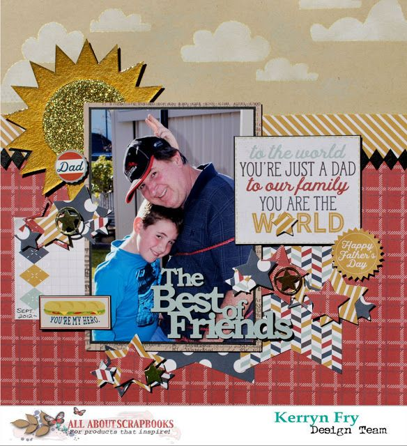 All About Scrapbooks Australia The Best Of Friends With Simple