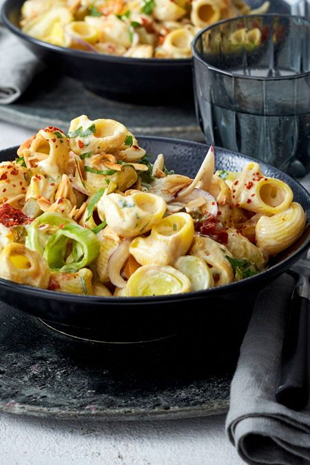 Photo of Faster on the couch: pasta with leek recipe DELICIOUS