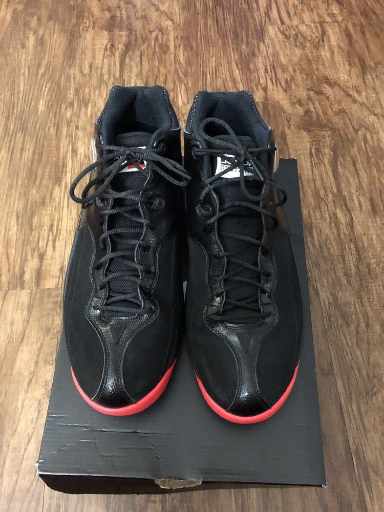 info for 88974 ec778 Mens Nike Air Jordan Jumpman Team 1 Black HT Basketball Shoe SIZE 11.5   eBay