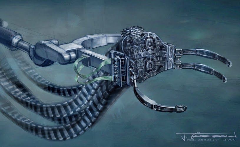 Doctor Octopus Concept Art