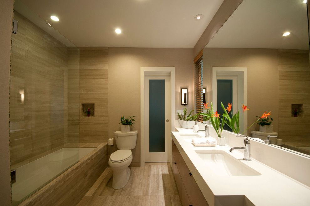 Jack And Jill Bath   Contemporary   Bathroom   Hawaii   MCYIA Interior  Architecture And Design