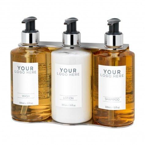 Triple Holder 300ml Chrome Hand Polished Ba 240 Shampoo