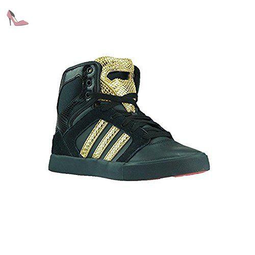 adidas bbneo salut haut x F38018 High Top Sneaker en noir