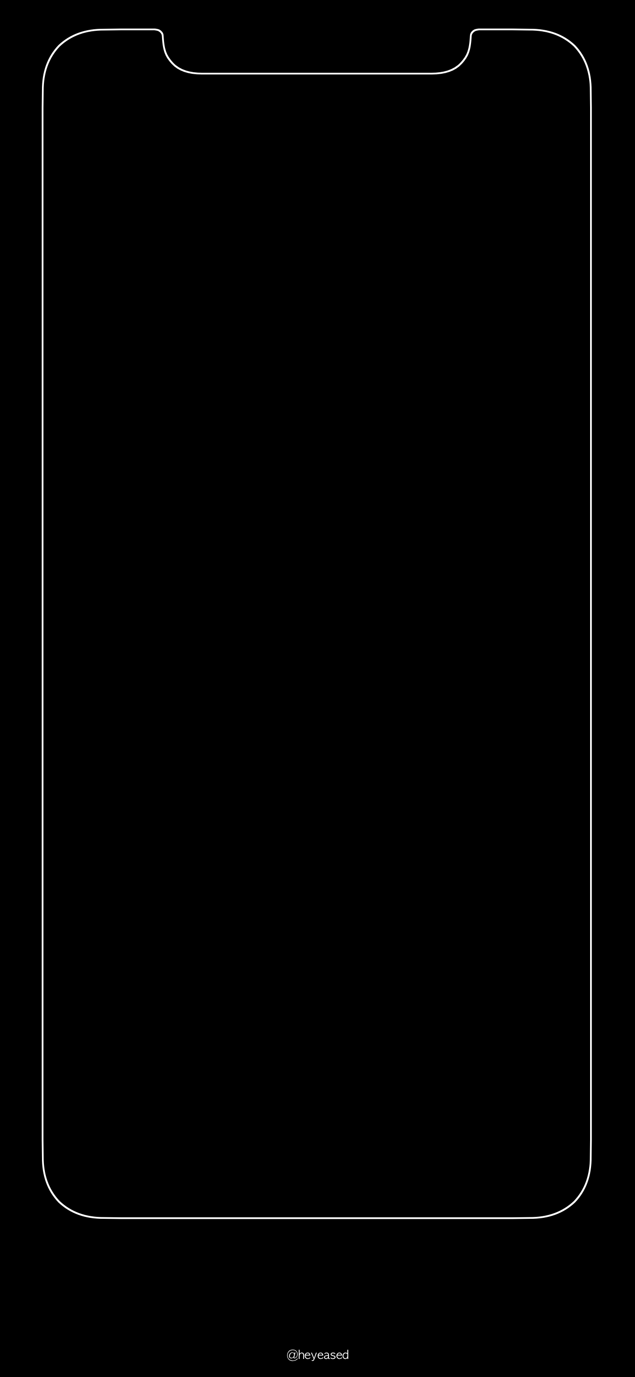 Fondo De Pantalla Para Iphone X Con Borde Blanco Iluminado Watercolor Wallpaper Iphone Black Wallpaper Iphone Iphone Wallpaper