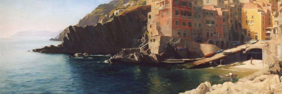 Riomaggiore by Maureen Hyde