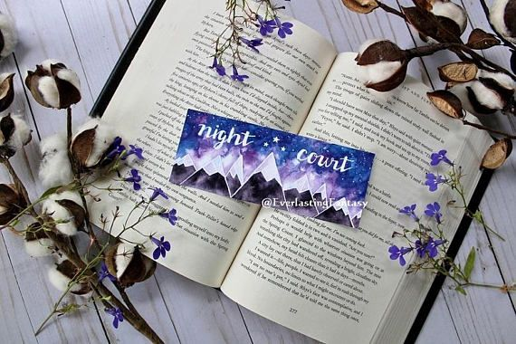 Free Shipping A Court Of Thorns And Roses Night Court Bookish