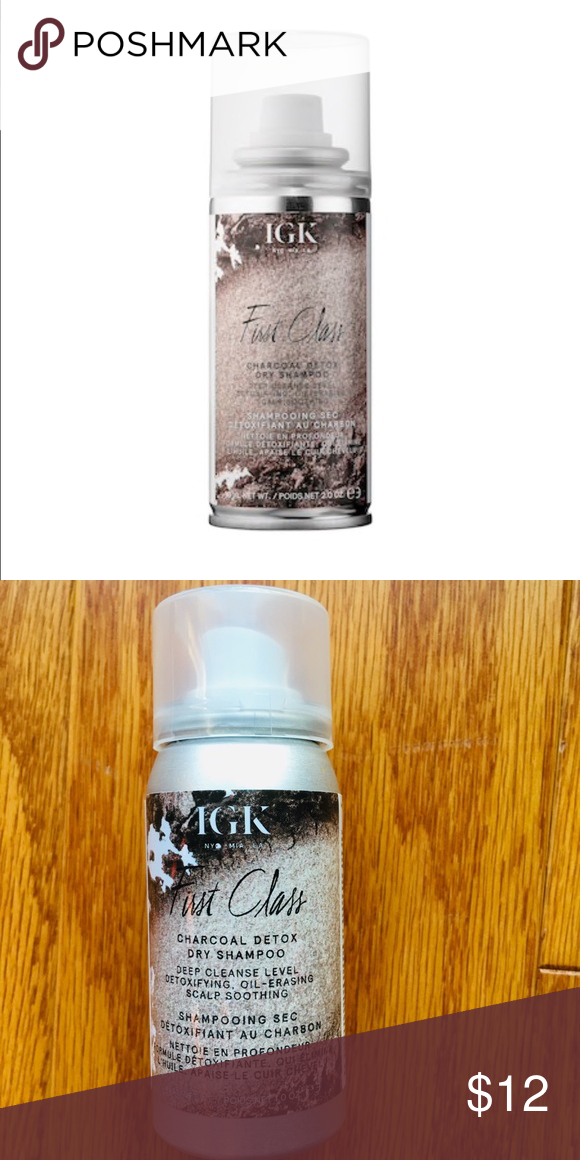 Nwt Travel Igk First Class Charcoal Dry Shampoo Shampoo Brands Dry Shampoo Sephora Makeup