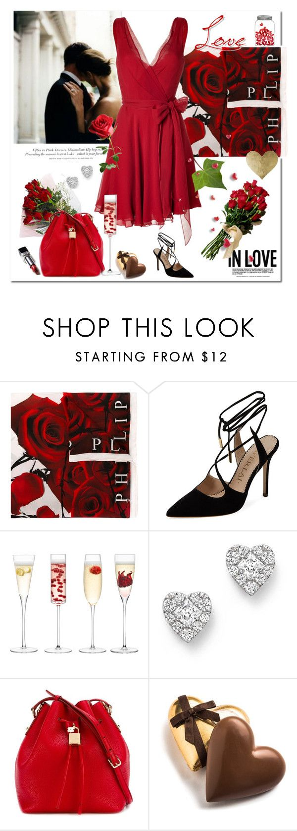 """For Love"" by rever-de-paris ❤ liked on Polyvore featuring H&M, Philipp Plein, Aperlaï, LSA International, Bloomingdale's, Dolce&Gabbana, Oliver Gal Artist Co., women's clothing, women and female"