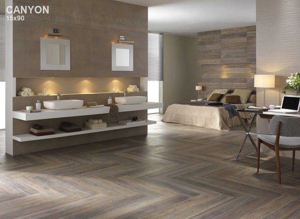 Pavimento in gres porcellanato a tutta massa effetto legno LISTONE D ...