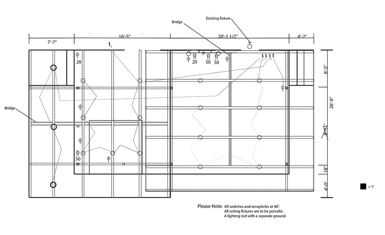 plan view detailing electrical plan. | electrical plan, how to plan, work  space  pinterest