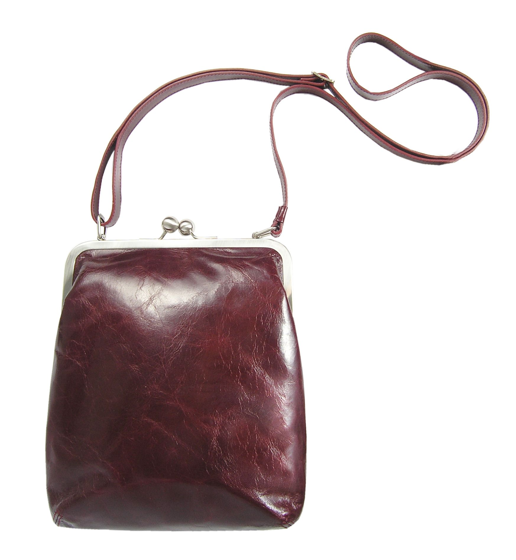 f1b794e421e5 Volker Lang Ruby leather bag! Love how this colour is everywhere this year!