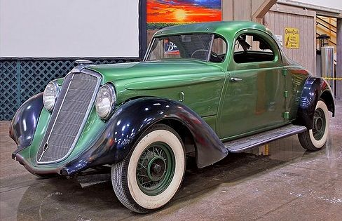 1934 Hupmobile Aerodynamic Coupe Vintage Cars Cars Classic