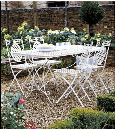 The Designs In Their Collection Of Metal Garden Furniture Provide A Varied  Range, From Modern