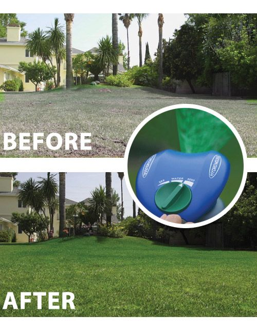 Introducing Hydro Mousse Liquid Lawn With Amazing Spray N Stay