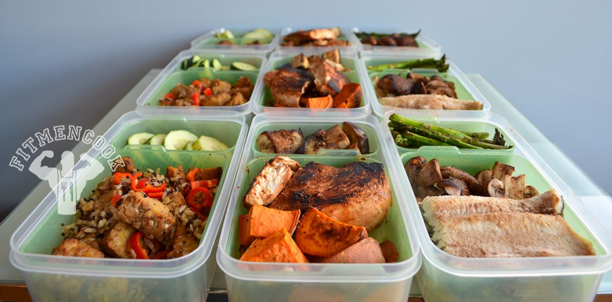 Three Meal Prep Day Samples with Vegetarian Sample, look AMAZING - prep cook