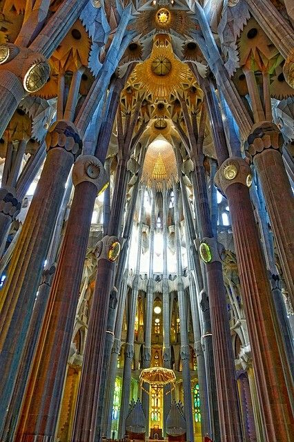 Sagrada Familia innen