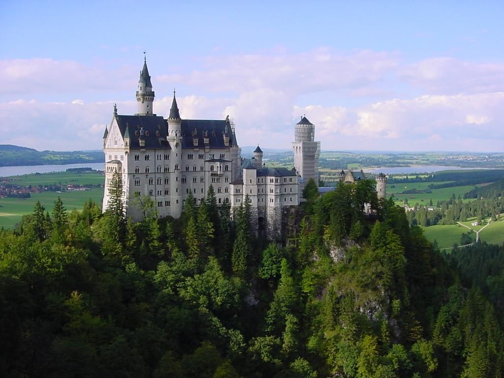 Schloss Neuschwanstein Fussen Alemania Neuschwanstein Castle Castle Germany Castles