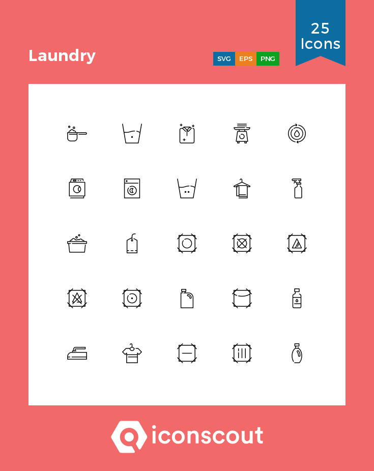 Download Laundry Icon Pack Available In Svg Png Eps Ai Icon