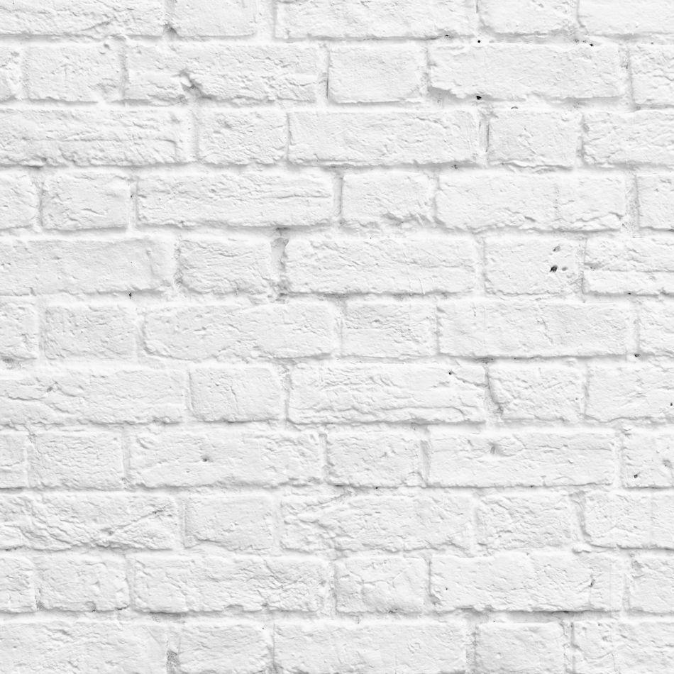 Wunderbar Backstein Tapete, Weiße ...