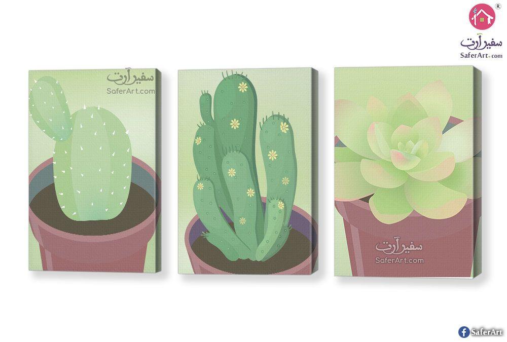 لوحات نباتات الصبار سفير ارت للديكور Aloe Vera Plant Plants Aloe