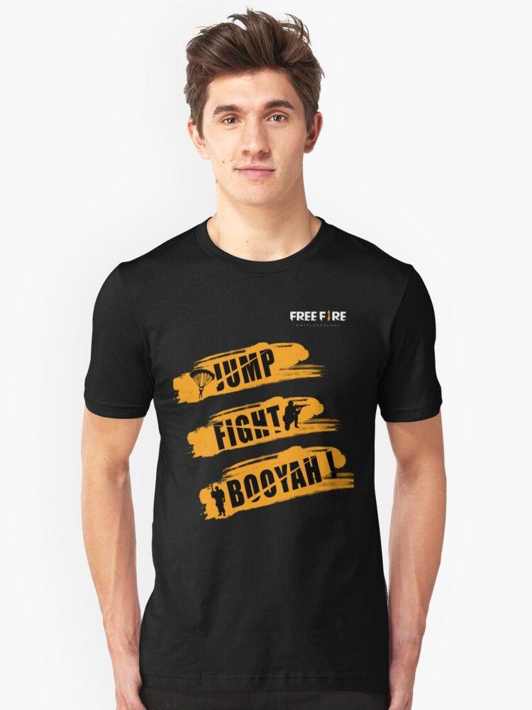 Free Fire Freefire Free Fire Booyah T Shirt Free Fire T Shirt Gaming Kids Hoodied Free Fire Booyah T Shirts Https T Shirt Nana T Shirts Classic T Shirts