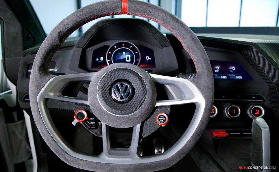 Volkswagen Design Vision Gti Makes North American Debut Autoconception Com Volkswagen Gti Volkswagen Gti